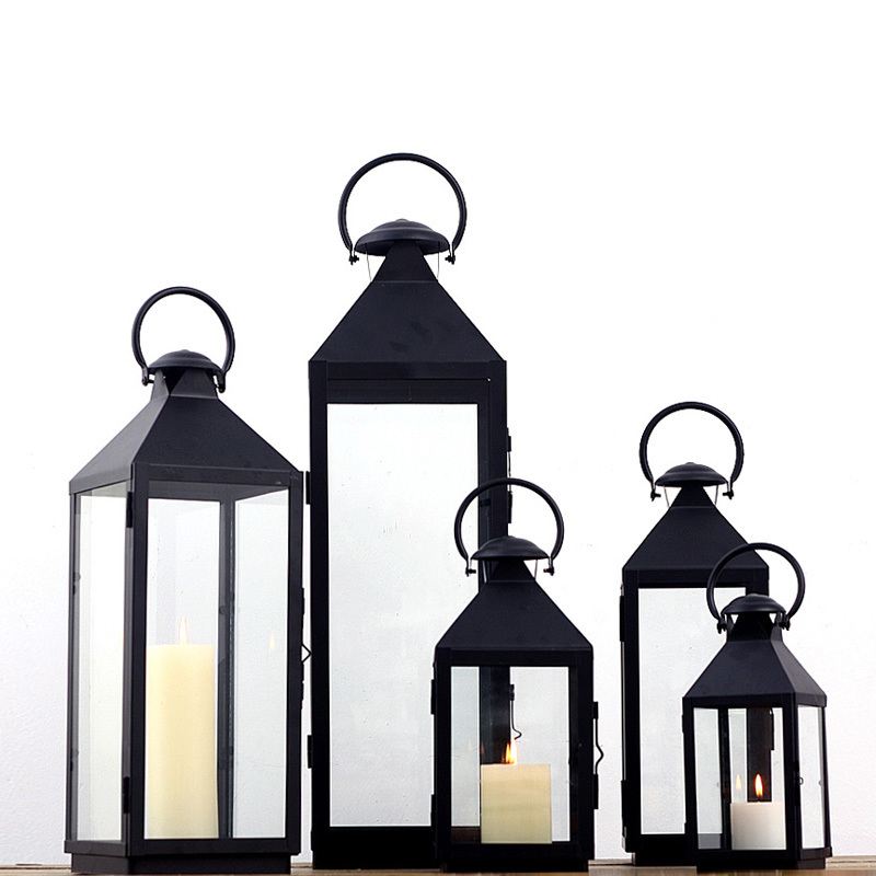 Get Quotations Special Iron Candlestick European Clical Ornaments Hand Wrought Gl Lantern Candle Holders Floor Home Decoration