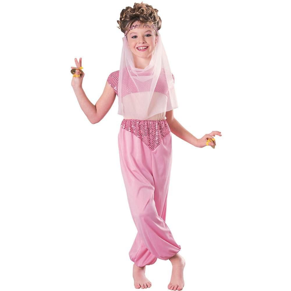 Get Quotations · Rubie s Girls Pink Arabian Harem Girl Costume 979616f6b