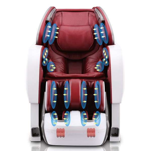 Luxury Gintell Reclining Foot Massage Chair with 3D