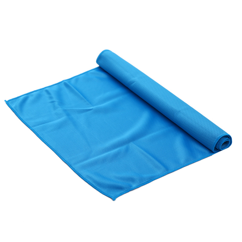 New creative cold exercise sweat summer ice 38x90cm toallas sports cool PVA hypothermia round beach towel