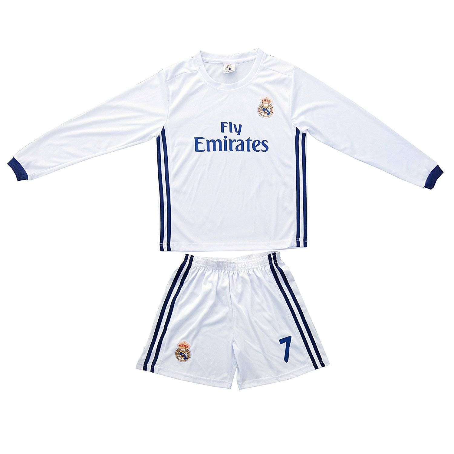 huge discount ce3e2 198f2 Buy 2015/2016 REAL MADRID #7 RONALDO KIDS HOME LONG SLEEVE ...