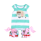 2018 baby girl clothes girl camping romper girl clothes