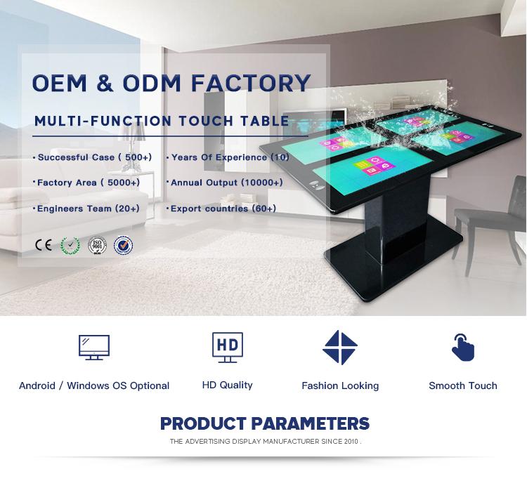 Wasserdicht touchscreen konferenz tisch spieltisch mit touchscreen
