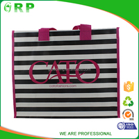 Cool design multi color choose plain jute bag