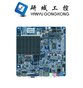 2017 Cheap Fanless AIO motherboard mini PC Thin Client computer motherboard with intel processor J1900/J1800