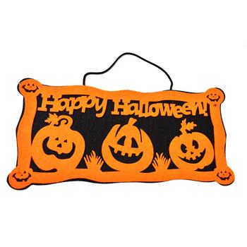 Happy Halloween Welcome Sign Door Decoration - Buy Happy Halloween ...
