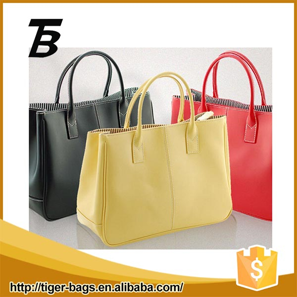 Middle East design waterproof durable colorful leather female popular hand bags