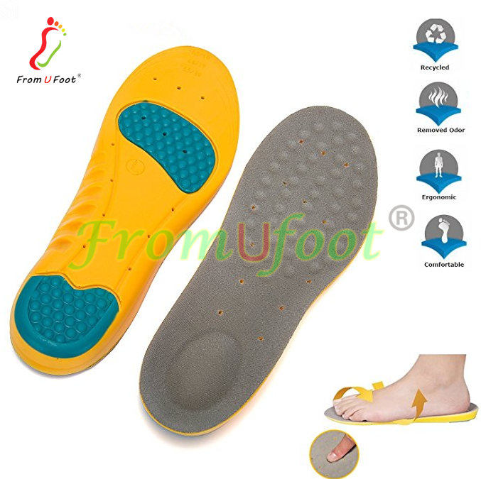 f76e0ea99b ZRWR05 Memory Foam Orthotics for pronation sneakers with arch support  medical insoles for flat feet