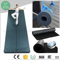 Quality ultra-grippy polyurethane non slip tree natural rubber china pu yoga mat