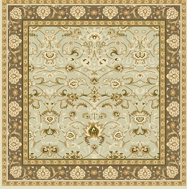 Beautiful Chinese Wool Handmade Area Rug French Aubusson Design