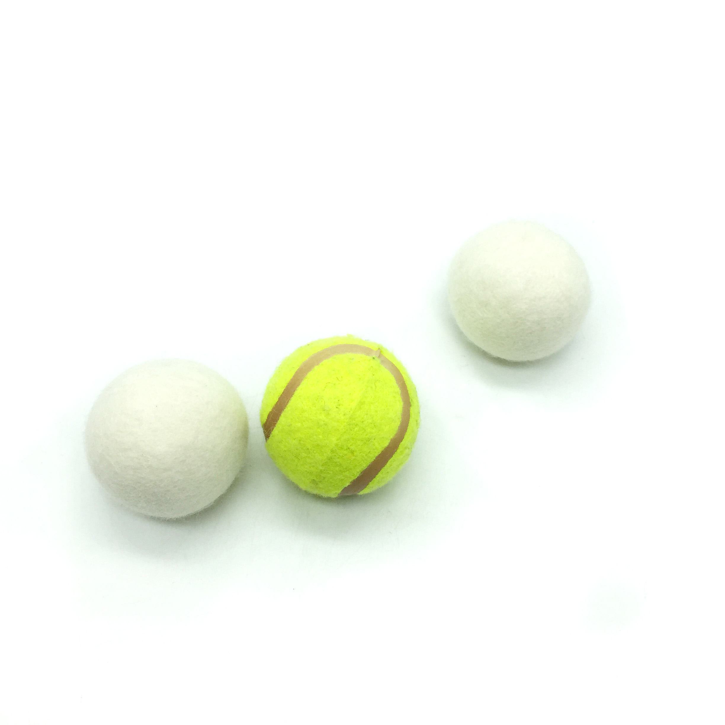 100% commercio all'ingrosso di lana Schafwolle Trocknerballe anti statica dryer balls