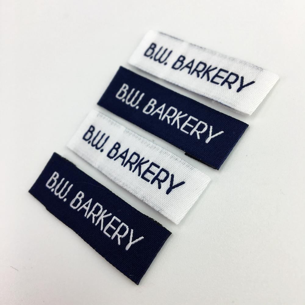 Woven Labels Garment Shirt Shoes Bags