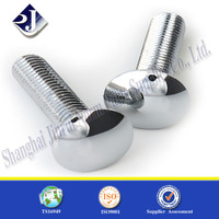 M10 stainless steel carriage bolt