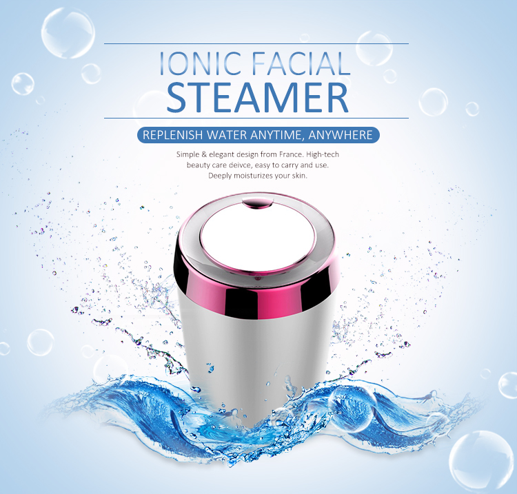 Multifunctional Beauty Device Face Steaming Sauna Ionic Nano Mist Facial Steamer