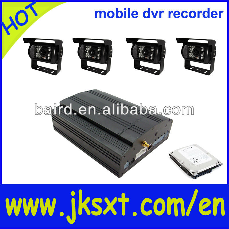 security mobile mini dvr 4ch wifi function for notchback surveillance