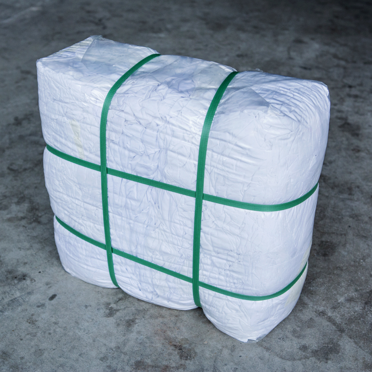 Strong Oil Water Absorption Ability Pure Cotton Wiping Rags In 25kg Bale