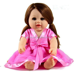 promotional products baby soft gift plastic 3d vinyl doll