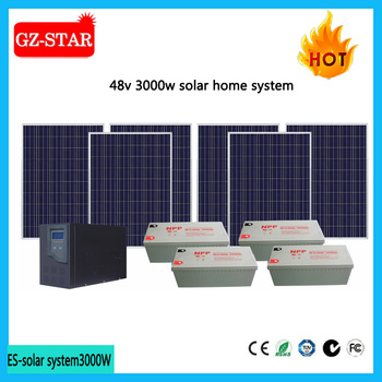 new design home 3000w solar power system price for sale buy home