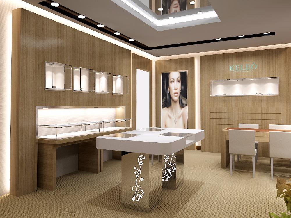 Bien-aimé Design de mode de luxe bijoux vitrine Pour Magasins de Détail  LS33