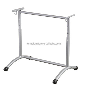 Modern Office Table Leg Metal Desk Round Leg Steel Support Leg