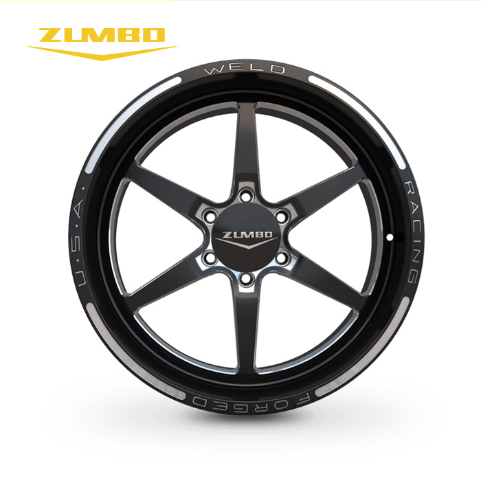 "Zumbo-S0058 Black milled alloy wheel rim aluminium forged wheels 18 to 20 inch 18"" 20"" car wheels rims alloy rims from China"