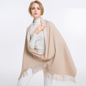 Women's Double Faced Scottish Pure Cashmere Scarf