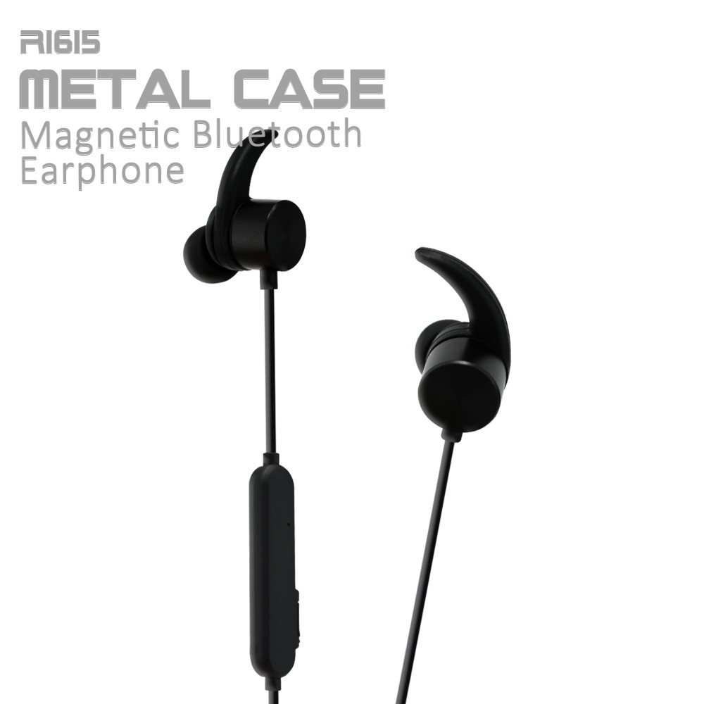 R1615 Sports Bluetooth stereo Wireless Earpiece Bluetooth4.1 Microphone Wireless For Outdoor Sports Motorcycle Bluetooth
