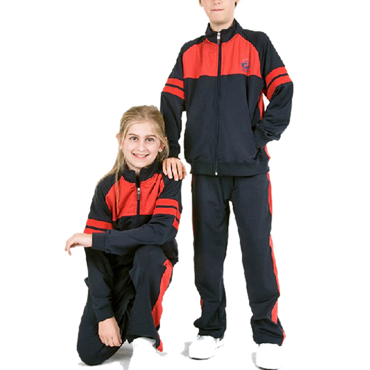 School Sports Wear Hoodies and Pants Sets for School Boys and Girls