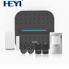 Wireless Security Alarm Wifi Home DIY Alarm System Kit with IP Camera