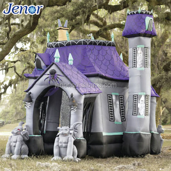 Jenor Giant Halloween Decoration Inflatable Haunted House For Sale   Buy  Inflatable Halloween House,Giant Halloween Decoration Inflatable Haunted ...