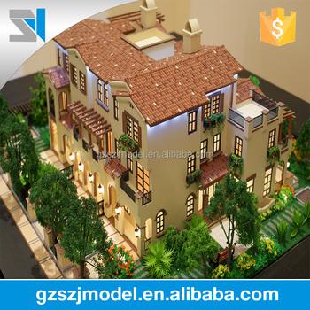 House Plans Miniature House Villa 3d Model