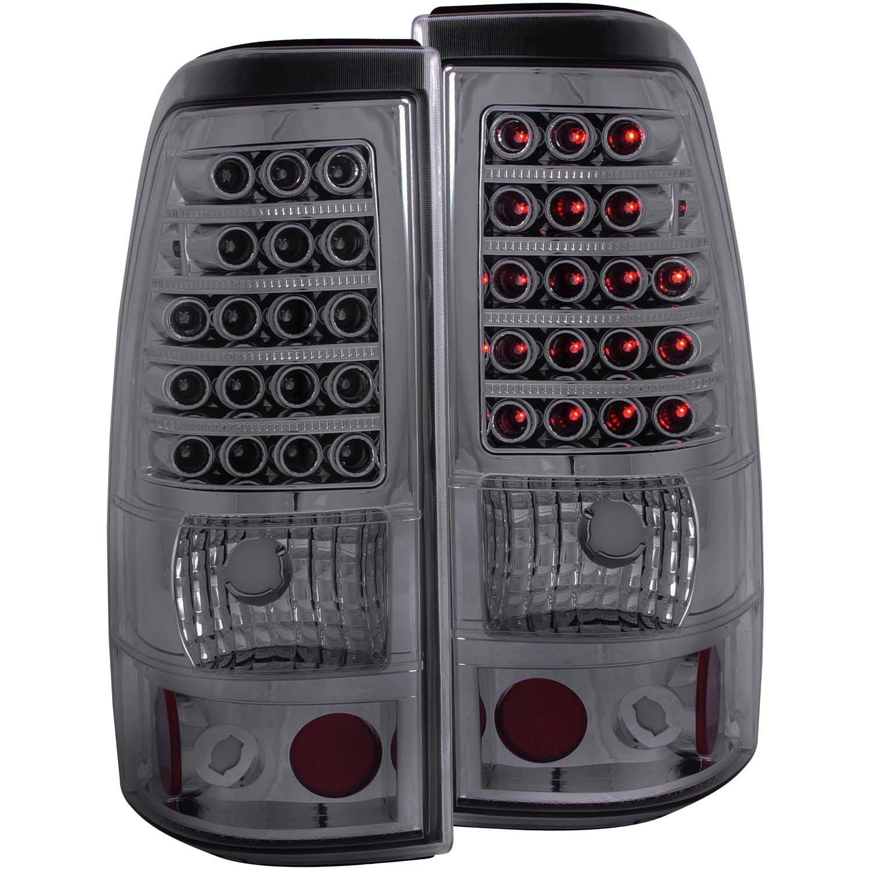 REAR TAIL LIGHT Chevrolet Silverado 1500, Chevrolet Silverado 2500 CHEVY SILVERADO CLASSIC 1500/2500 2007 L.E.D SMOKE