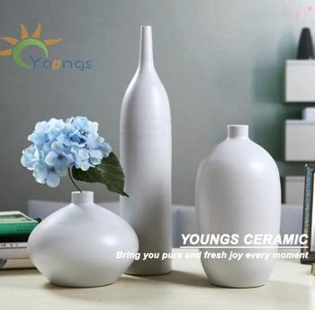 Elegant Handmade Ceramic Artistic Flower Vases Set Buy Handmade