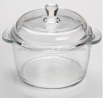 high quality clear glass cooking pot with glass lid buy clear glass cooking pot clear glass. Black Bedroom Furniture Sets. Home Design Ideas