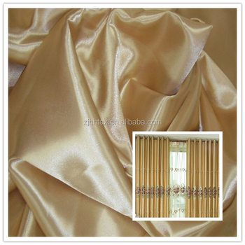 2017 Newest Types Of Woven Polyester Blackout Curtain
