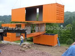 Precio barato prefabricadas modernas casas de contenedores - Precios de casas contenedores ...