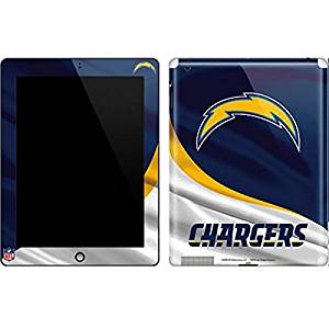 NFL San Diego Chargers iPad 2 Skin - San Diego Chargers Vinyl Decal Skin For Your iPad 2