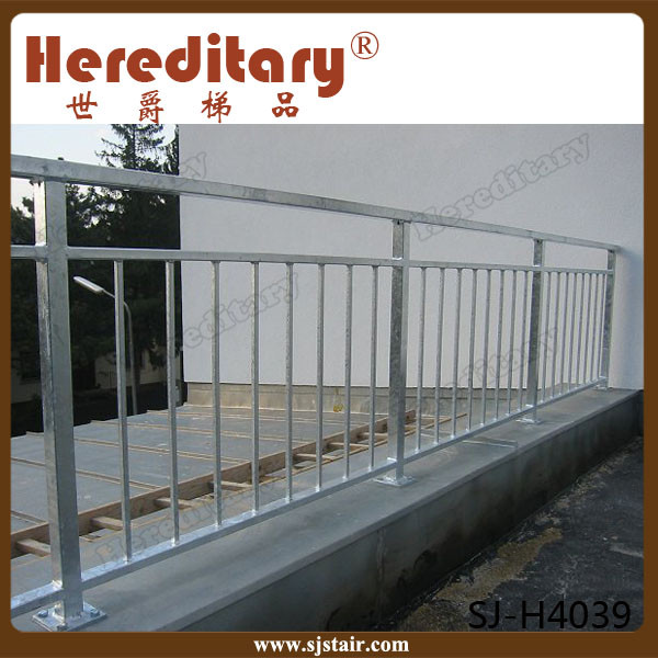 Safety Decorative Steel Terrace Fences Balcony Grill Design