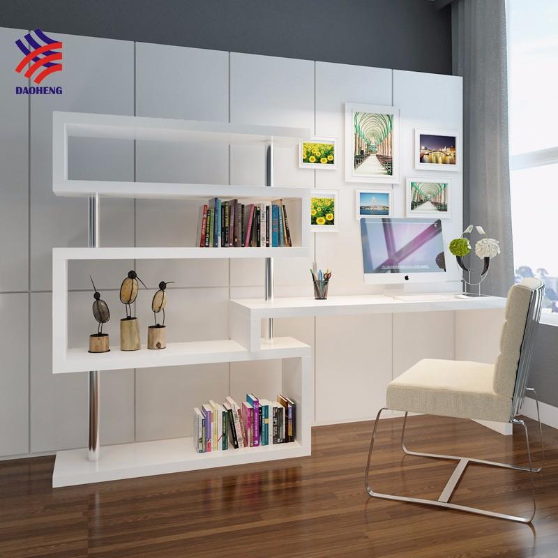 Reclinable muebles pantalla port til cama escritorio con - Estanterias diseno para libros ...