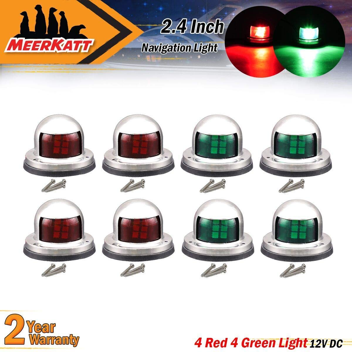 Collection Here Abs Plastic Marine Boat Yacht Light All Round 360 Degree White Led Anchor Navigation Lamp Year-End Bargain Sale Boat Parts & Accessories