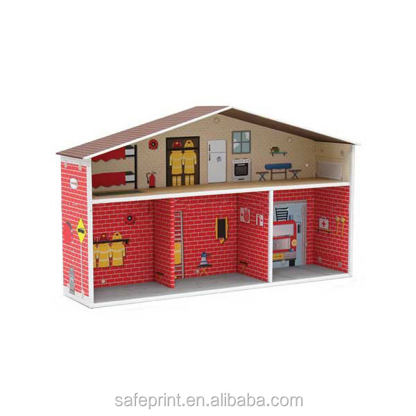 Custom Paper,Corrugated Cardboard House For Kids Material Cardboard House For Kids