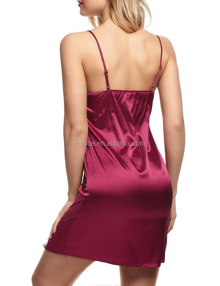 Sexi nighti vestido sleepgown se ora girls tarde noche for Chicas en ropa interior sexi