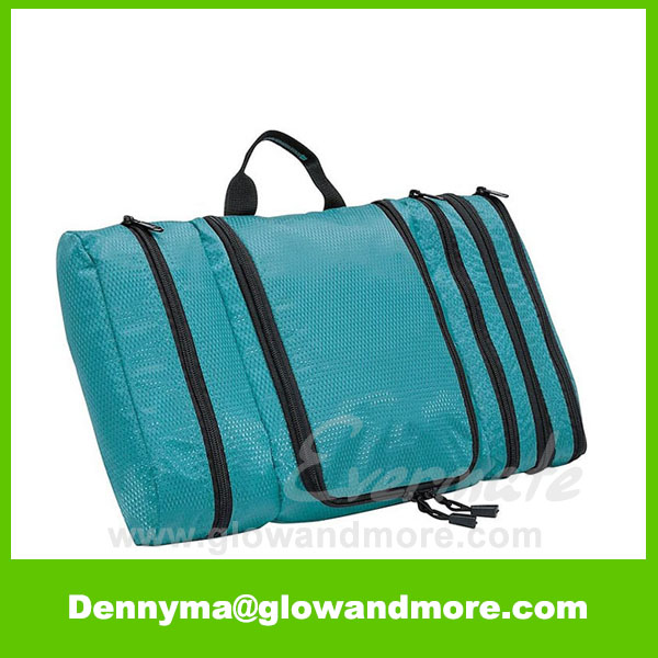 Best Selling Waterproof Pack-it-Flat Kit Wholesale Toiletry Bags