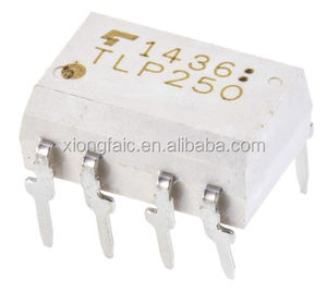 TLP250(F) DC Input Transistor Output Optocoupler, Through Hole, 8