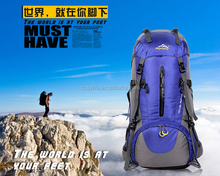 50L Bag Factory Hot Sale Nylon Waterproof Outdpoor Hiking Climbing Backpack