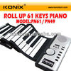 wholesale roll up piano keyboard instrument for children's day