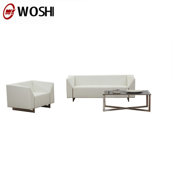 Newest Office Sofas Executive White Sofa Leather