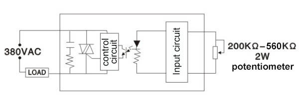 nqqk 120a 240a 380v ac dc ssr potentiometer voltage solid state rh alibaba com