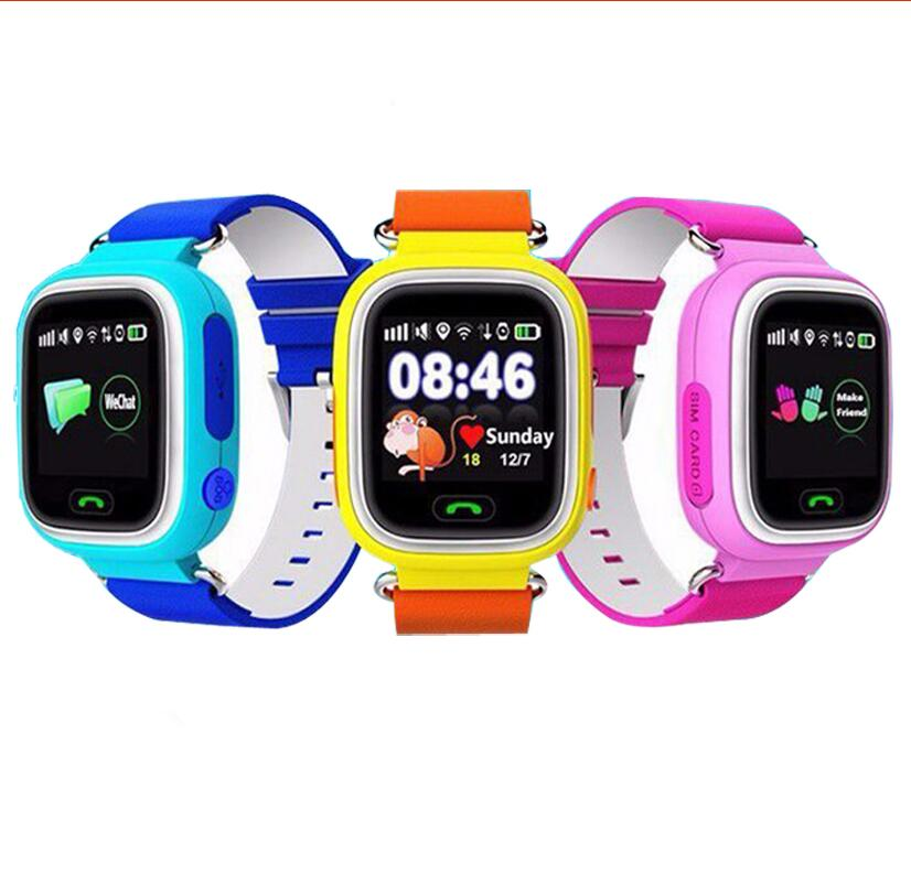 Original Q90 GPS Phone Positioning Children Watches with WIFI SOS Smart Baby Kids Watch Anti Lost Monitor Tracker PK Q80 Q50 Q60 фото