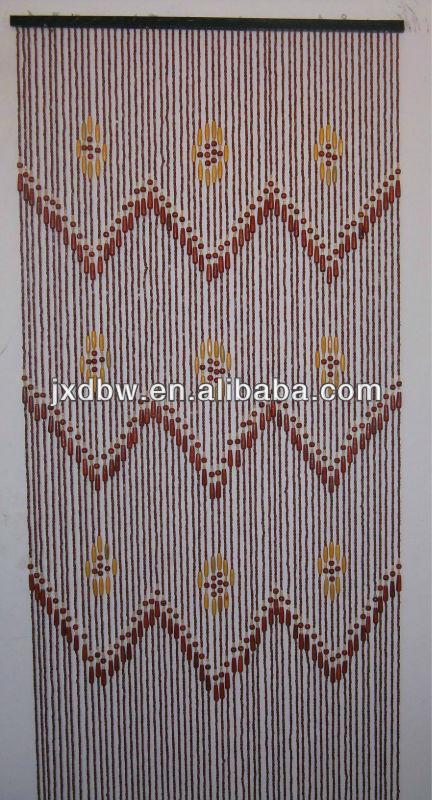90x180 Or 90x200cm Diy Wood Bead Door Curtain For Sale - Buy Diy ...